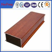 Quality Hot Sale Wood Grain Aluminium Alloy Pipes, aluminum tubes extrusion for sale