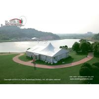 Buy cheap 20 x 25m 500sqm Aluminum Outdoor Party Tents A Shape With Lining Curtain from wholesalers