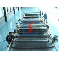 Quality Waterproof PE / PP Drain Boardm Machinery , Plastic Board Extrusion Line for sale