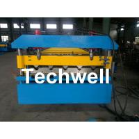 Quality Iron Metal Roof Sheet Roll Forming Machine With Manual Or Hydraulic Uncoiler for sale