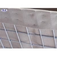 Buy cheap Sand and earth filled Military Hesco Barriers Welded Gabion With Geotextile Lined from wholesalers