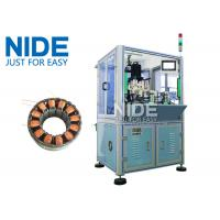 Quality Automatic BLDC double working stations Burshless motor stator needle winding machine / Stator ID 10-100mm for sale