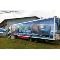 Quality 12 Seats Imax Movie Theaters Truck Mobile 5D Cinema With Projectors Screen for sale