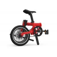 China LCD Display Folding Electric Bike , Lithium Battery 36V 250W Foldable Electric Bike on sale