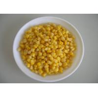 China Steamed Canned Sweet Corn Kernel With Good Taste ISO / FDA Approved on sale
