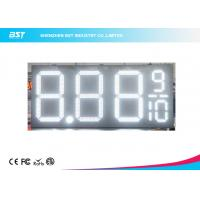 Quality 24 Inch Outdoor Led Gas Price Changer / Gas Station Price Sign Numbers for sale