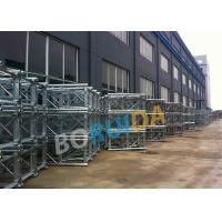 Quality Aluminum Construction Material Hoist Up Ramp Door Style 3.2mx1.5mx2.5m Cage Size for sale