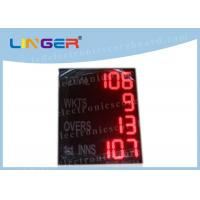 Quality Desktop Multi Sport Scoreboard , Cricket Digital Scoreboard Outdoor Type for sale