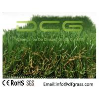 Quality Olive Shaped Monofilament Realistic Artificial Grass Soft Touch Natural Looking for sale