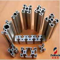 Quality High Precision Structural Aluminum Profiles With PVDF Coating Silver White Color for sale
