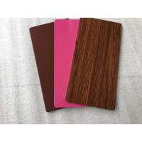 Buy PVDF Paint Aluminum Insulated Sandwich Panels , Exterior Building Cladding at wholesale prices