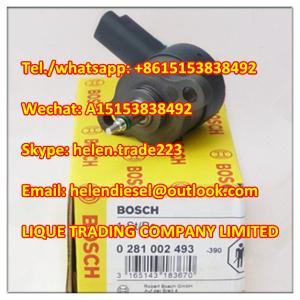Quality 100% Original BOSCH  0281002493 ,0 281 002 493 pressure regulating valve 139925, 193325, 15610-67G00, 1561067G00 GENUINE for sale