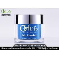 Buy cheap Blue Custom Gel Dip Powder Fingernails Polish Acrylic Nail Powder from wholesalers