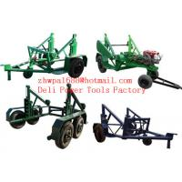 Quality Cable Reel Puller Cable Reel Trailer Reel Cable Trailer for sale