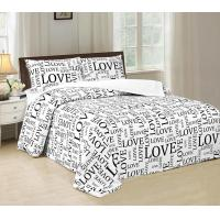 Quality Disperse Printed Four Piece Bedroom Set No Bleaching With PVC Booking Packing for sale