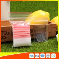 Buy Easy Storage Packing Ziplock Bags 1-4 mil Thickness food grade and non-toxic at wholesale prices