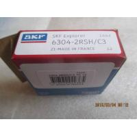 Quality Low Vibration Single row deep groove ball bearings 6304-2RSH/C3 C3 larger clearance for sale