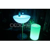 Quality Plastic outdoor Led Bar Stools waterproof night club furniture for sale