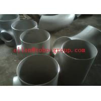 Quality TOBO STEEL Group  Stainless Steel Tee ASTM A234 GR WPB , ST37.2 , ST35.8Din 1.4301 , 1.4306 , 1.4401 , 1.457 for sale