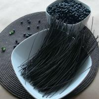 China Organic vegetarian and gluten free black bean spagehtti/linguine on sale