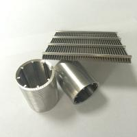 Quality Wedge Wire Screen|Welded Mesh Slot Size 0.01mm 30~125V for Filtering for sale