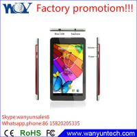 China Top selling 7 inch Android MTK8312 Dual core 3G Tablet pc with Bluetooth Gps on sale