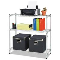 """Quality 5"""" D X 12"""" W X 14"""" H Chrome Finish Commercial Wire Shelving 45kg Each Layer Shelf for sale"""
