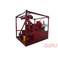 Quality Efficient drilling mud recycling system for HDD project at Aipu solids control for sale