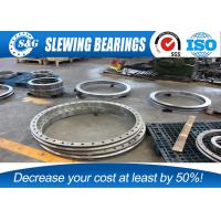 China Large Industrial Turntable Bearings / High Load Bearings For Excavator on sale