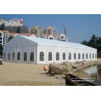 Buy White 2Nd Hand Clear Span Marquee , Outside Storage Tents 500 People at wholesale prices
