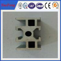 Quality Industrial aluminium alloy track profiles, OEM design U Shape Extruded aluminium track for sale