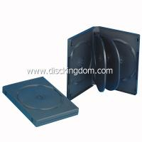 China 22mm black DVD case for 6 DVDs cover printing CD DVD Replication Digipak on sale