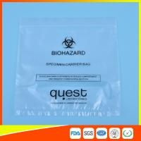 Quality Leak Proof Soft Specimen Transport Bags For Transporting Lab Specimens for sale