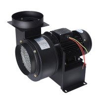 Quality Metal Centrifugal Blower 220V Kitchen Hood Blower 50HZ Industrial Air Exhaust Blower Fan for sale