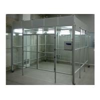 Quality Aluminum Positive Pressure Soft Wall Clean Room Vertical Laminar Flow Booth for sale