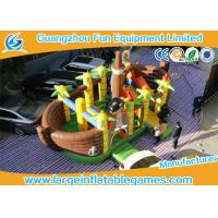 Buy Durable Pirate Themed Inflatable Pirate Boat / Inflatable Bounce House at wholesale prices