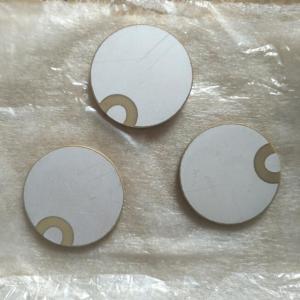 Buy cheap 30x2MM Piezo Ceramic Plate For Ultrasonic Sensors / Vibration Equipment from wholesalers