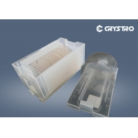 Quality Orientation <100> Single LaAlO3 Crystal Wafer for sale