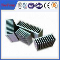 Quality extruded aluminum heat sink, aluminum heat sink material for sale