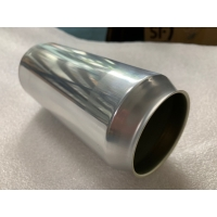 Quality Empty Aluminium Cans 16oz Ounce 473ml with 52mm Dia Lids for sale