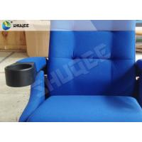 Quality Futuristic Cinema Shock Theater Seating For Home Fine Linen Fiber Armrest for sale