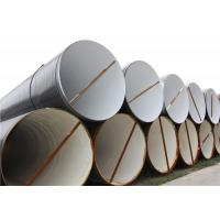 Quality X42 X46 X56 PE Coated Spiral Steel Line Pipe For API Spec 5L Oilfield Pipeline for sale