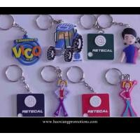 Quality Custom 3D pvc keychain for promotion|soft pvc rubber keychain for sale