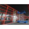 Ladder Scaffolding Scissor Lift Table , Elevated Work Platform Table Easy Maintenance for sale
