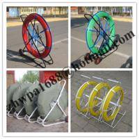 Quality video duct rodder,new type frp duct rod,shake frame fiberglass duct rodder for sale