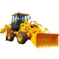 Quality Yellow Color Mini Backhoe Loader WZ30-25 Compact Tractor Front End Loader for sale