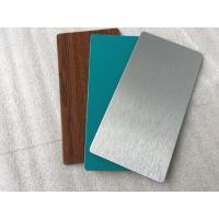Quality Waterproof 3mm Aluminium Composite Sheet , Alu Clad Aluminium Composite Panel for sale