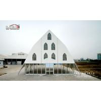 2017 New Design Clear Span Church Tents with Glass Walling System for ceremony for sale