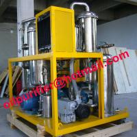 Quality Stainless steel cooking oil purifier,dirty vegetable oil processing machine,remove particles,odor,water and alcohol, for sale