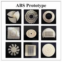 Quality ABS Prototype Plastic Mold Parts High Toughness Low Friction TS Certification for sale